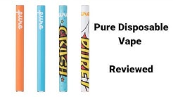 Pure Vape Raspberry Twist Disposable Review