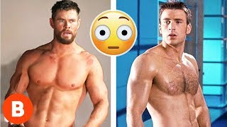 Marvel's Best Shirtless Moments In The MCU Ranked