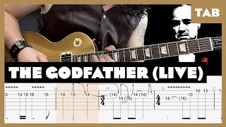The Godfather Live in Tokyo 1992 Guns N' Roses Cover   Guitar Tab   Lesson   Tutorial