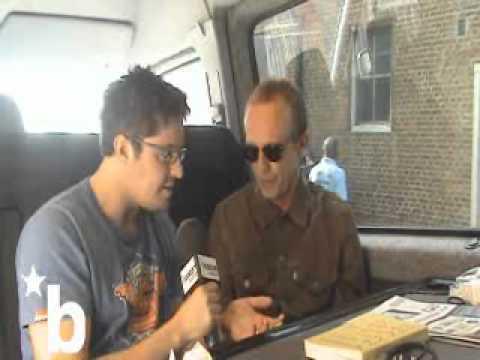 Steve Cradock talks to James Carpenter