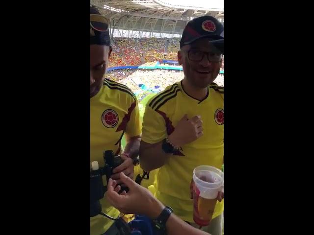 El colombiano que ingresó licor a un estadio en Rusia