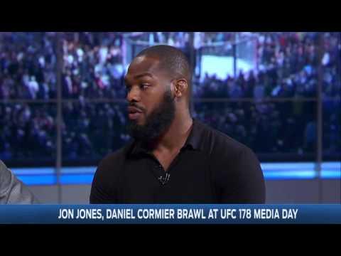 Jon Jones and Daniel Cormier Join FOX Sports Live   UNCUT