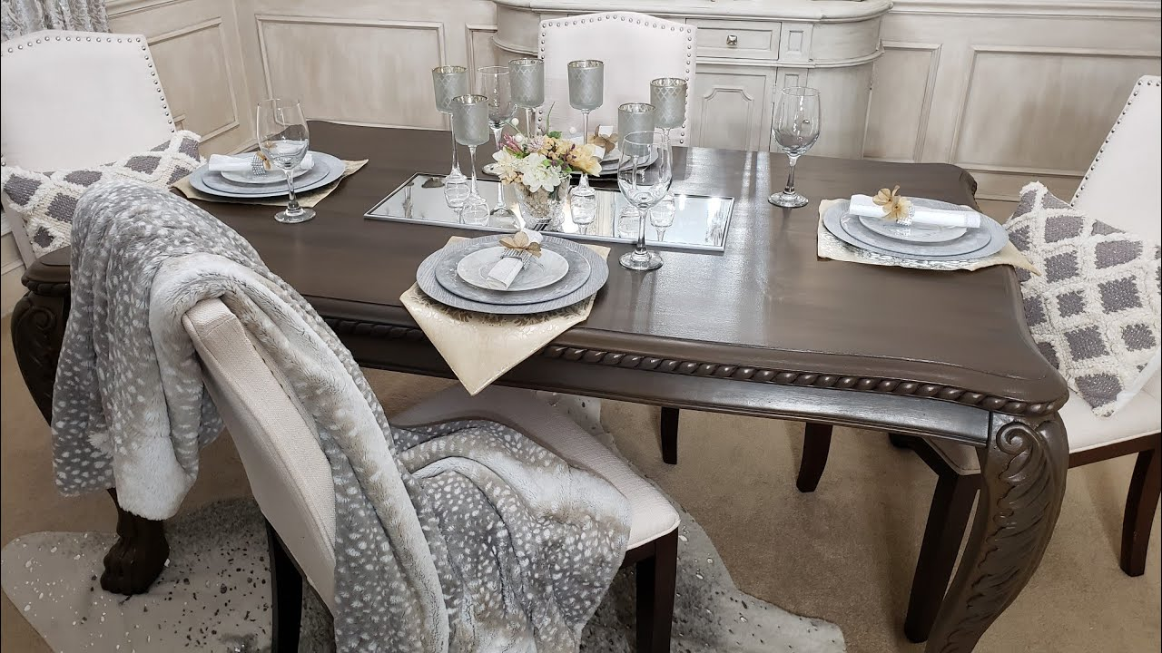 2020 Dollar Tree Diy Tablescape Budget Friendly Dining Decorating Ideas Youtube