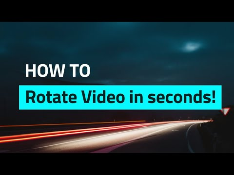 How To Rotate A Video In Seconds - Rotate & Flip Video EASY TUTORIAL