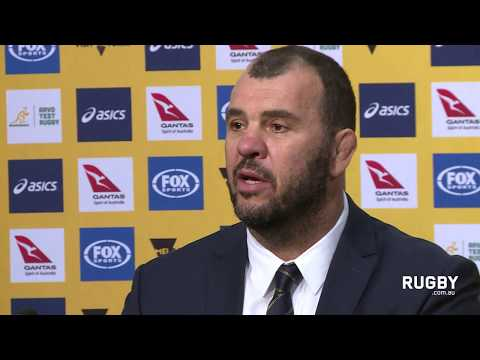 Cheika happy with first hit out