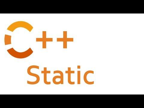 Static in C++