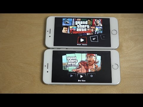 GTA Liberty City Stories iPhone 6S vs. GTA San Andreas iPhone 6 Graphics Comparison!