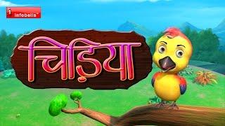 chu chu karti aayi chidiya Hindi Rhymes for Children