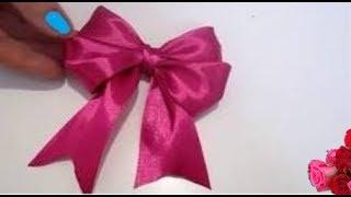 как сделать Красивый Бант из Ленты / How to make Hair Bow /  NataliDoma