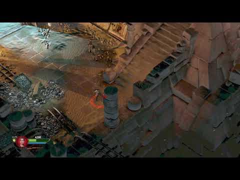 Lucas Novaes playing Lara Croft and the Temple of Osiris |
