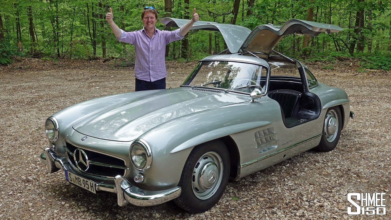 meet my mercedes 300sl gullwing mille miglia youtube. Black Bedroom Furniture Sets. Home Design Ideas