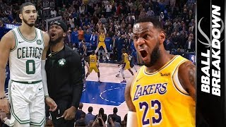 LEBRON & LUKA Highlight The Top NBA Games of the Night