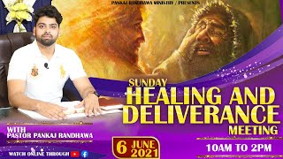 SUNDAY HEALING AND DELIVERANCE PRAYER MEETING  || LIVE STREAM || 6- 06- 2021 II