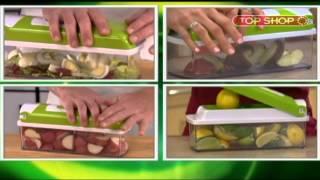 Измельчитель Nicer Dicer Plus - То, что он делает на кухне невероятно!(Закажи измельчитель Nicer Dicer Plus прямо сейчас: http://goo.gl/MhI5U Хотите быстро нарезать овощи кубиками в салат? Или..., 2013-04-05T09:43:06.000Z)