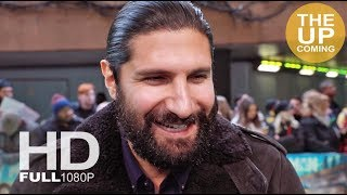 Kayvan Novak interview at Early Man premiere in London
