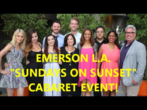 EMERSON COLLEGE L.A. | CABARET EVENT #1