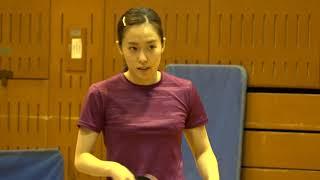 世界卓球2019日本代表最終選考会 石川佳純 前日練習②