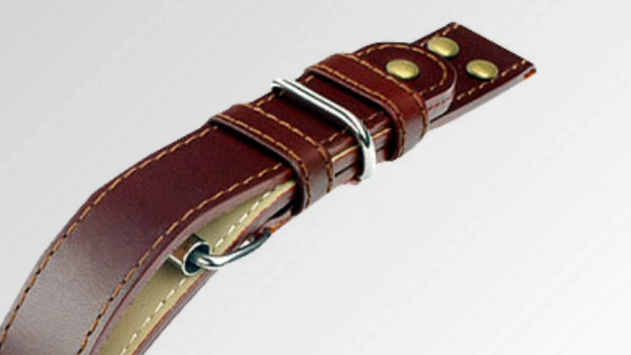 Types Of Watch Bands >> Different Watch Strap Types Youtube