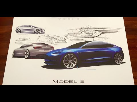 Model 3 Tesla,  july 28 event premature excitification! 2.0 intro.