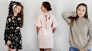 ПОКУПКИ ОДЕЖДЫ с ПРИМЕРКОЙ!(Ссылки на одежду: Makemechic http://www.makemechic.com/ - Серая куртка https://goo.gl/skOlUO размер S - Розовое платье https://goo.gl/8Svw2G ..., 2016-11-27T06:50:02.000Z)