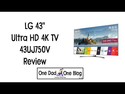 "LG 43"" Ultra HD 4K TV Review 43UJ750V"