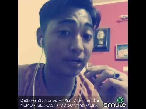 Memori Berkasih - Achik feat Siti Nordiana ( Cover Dharman feat Irwan Sumenep ) @Smule