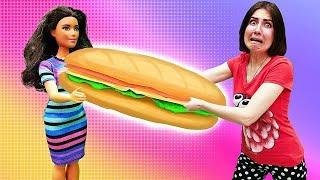 Мультик с куклами Барби: Мауи нашел девушку. А Тереза стала ТОЛСТОЙ! Я не хочу в школу 14