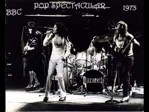 "NAZARETH  "" Pop Spectacular "" BBC 1973"