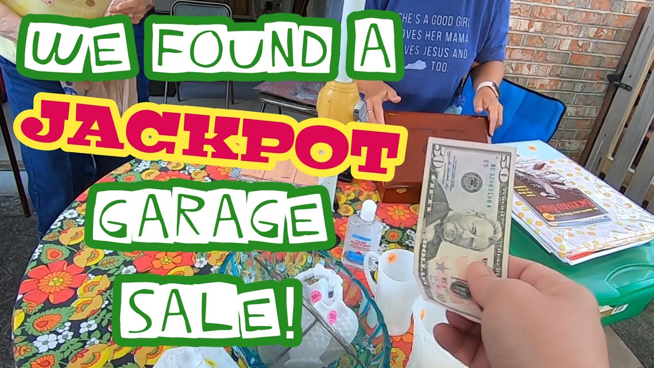 Garage Sales Are Back! Let's Go Thrifting!