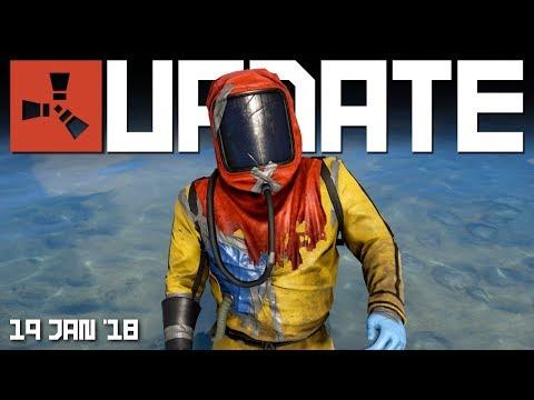 New hazmat suit, water well monuments | Rust update 19th Jan 2018