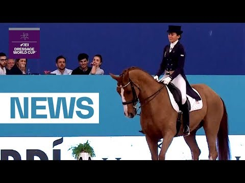 Home hero Ferrer-Salat unbeatable in Madrid - News | FEI Dressage World Cup™