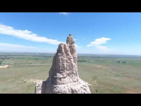 Chimney Rock CR365 Drone Flyover