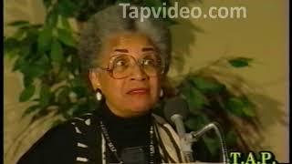 Dr  Barbara Sizemore Black People Still Don