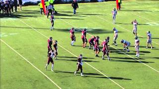 Spartan Football:  Case Western Reserve University vs. University of Chicago 2nd half