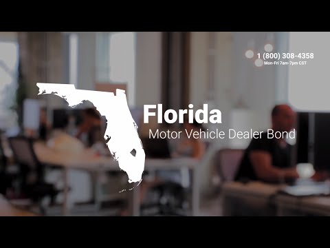 Florida Motor Vehicle Dealer Bond