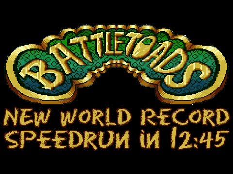 Battletoads (NES) Any% in 12:45 (Former Record)