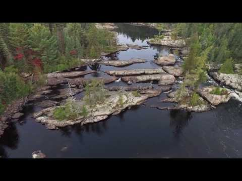 2017 Lady Evelyn River Canoe Trip (revisit after 10 yrs) for HD Video & some drone footage