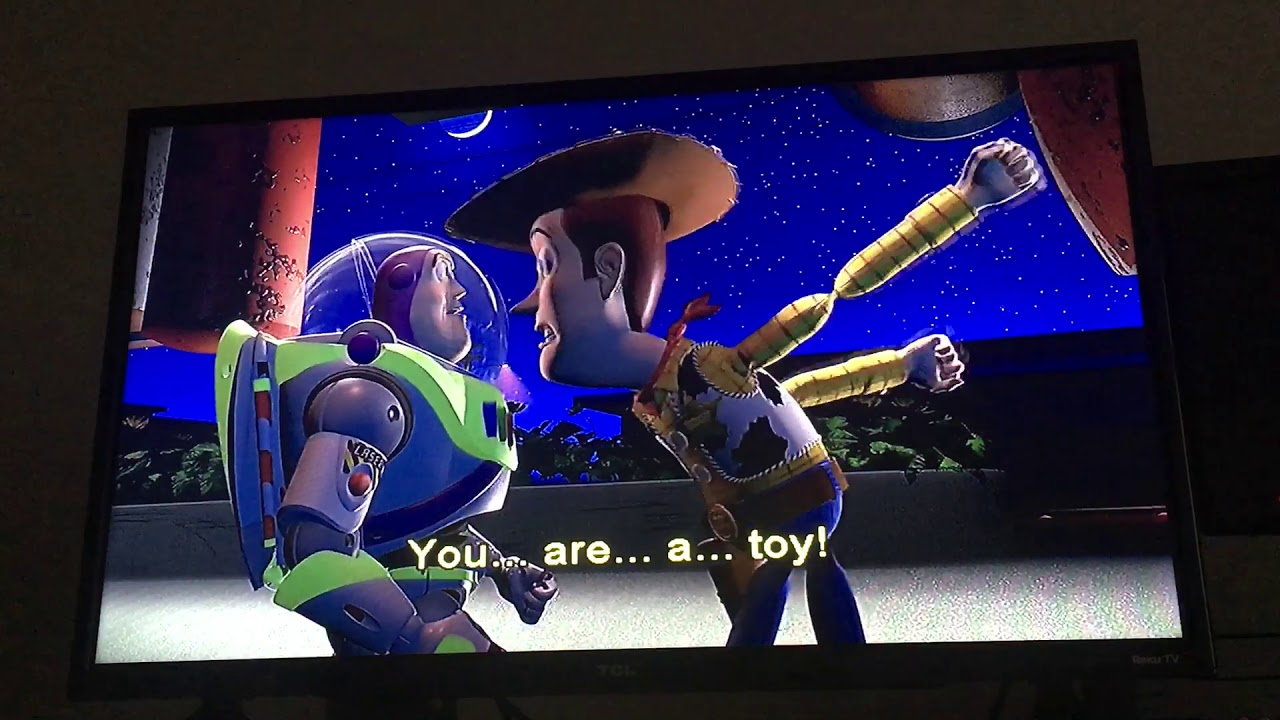 Toy Story You Are A Toy Scene Youtube