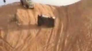 VOTED #1 BEST- Sand Dune Hill Climbing Race Truck Roll Over Crash