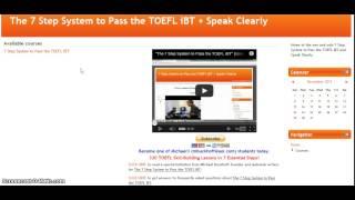 Online TOEFL Course / K Independent Speaking Practice Test 20