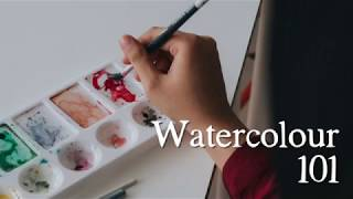 Watercolour 101: Water-to-Paint Ratio