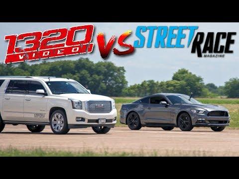 Download Youtube: 1320Video Yukon Surprisingly GAPS Mustang LOL!