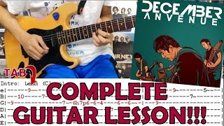 Sa Ngalan Ng Pag-Ibig -  December Avenue(Complete Guitar Lesson/Cover)with Chords and Tab