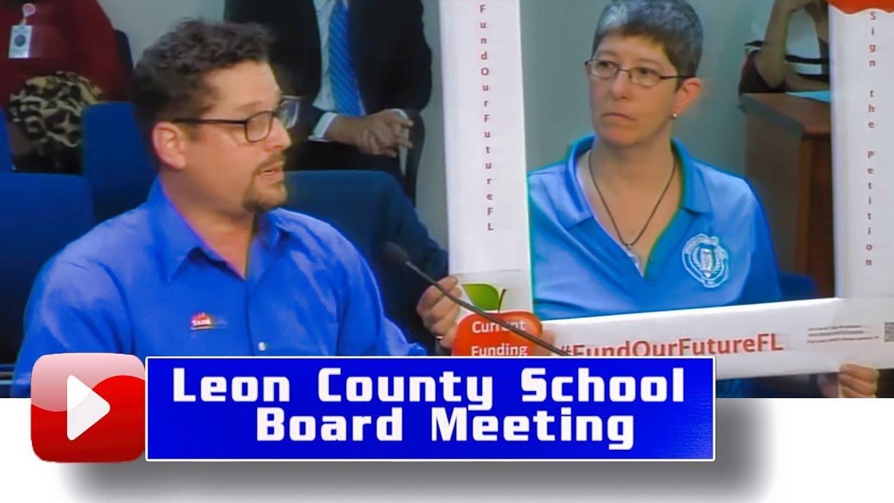 Leon County School Board Meeting- April 8, 2019