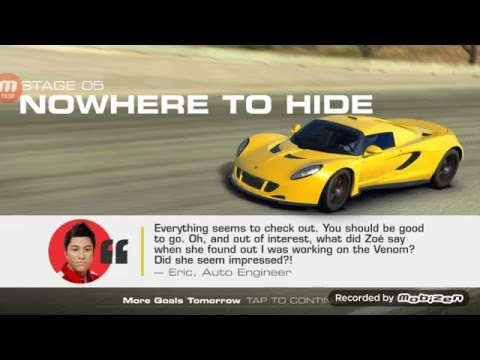 Real Racing 3: Hennessey Venom GT Front Runner Stage 5!