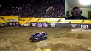 Monster Jam World Finals 18 Freestyle Highlights Reaction!!!