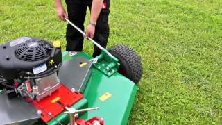 Wessex AR-120 rotary mower
