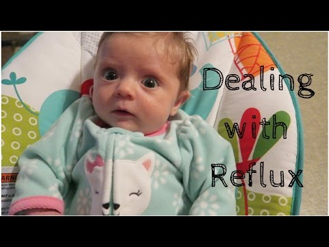 Dealing With Reflux | 7-8 Weeks Old | VLOG