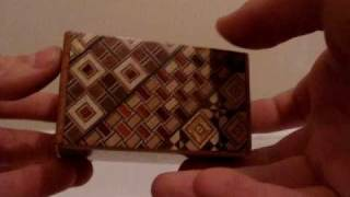 Puzzle Box-how To Open