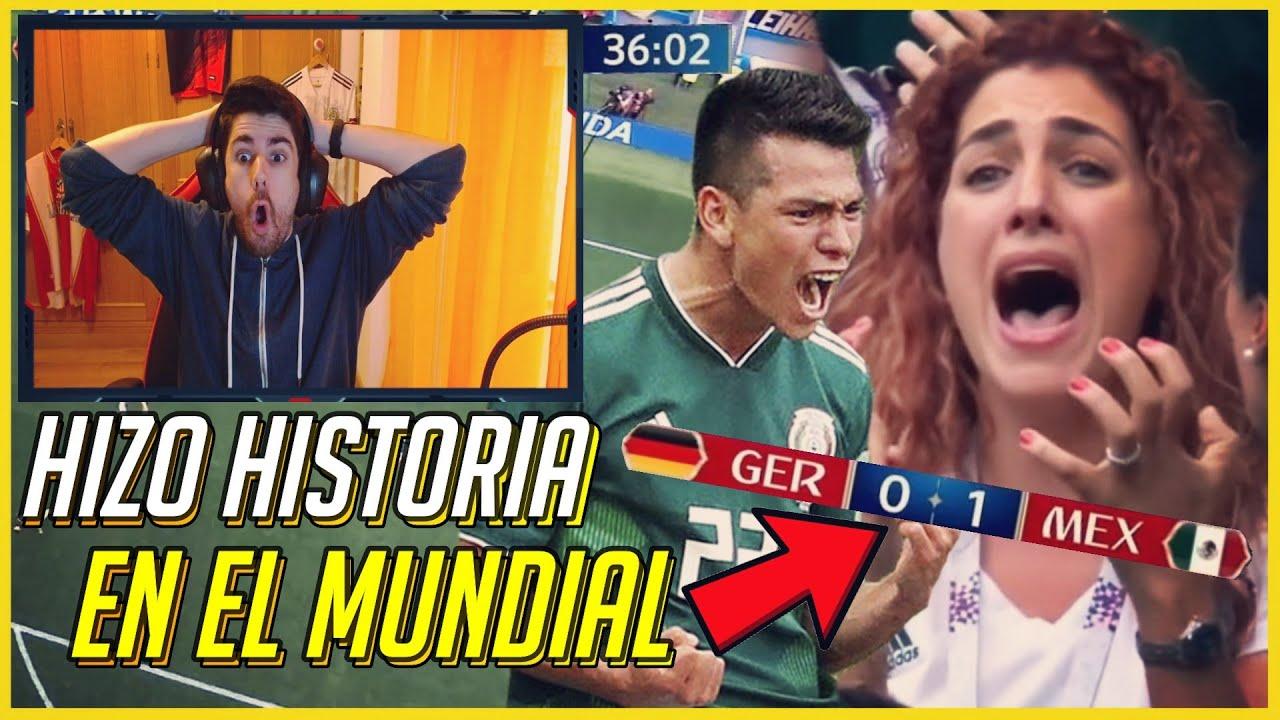 🔥 ESPAÑOL REACCIONANDO a MÉXICO 1-0 ALEMANIA (Mundial 2018)